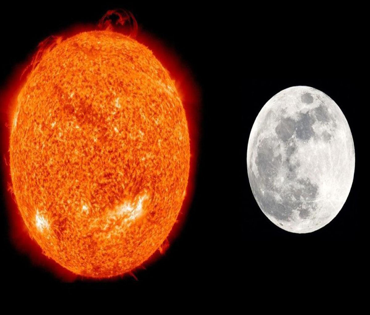 تفسير رؤية التقاء الشمس والقمر في المنام للمرأة المتزوجة