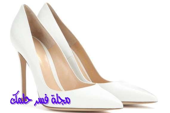 الحذاء الأبيض للعزباء والمتزوجة في الحلم والمنام احلامي دوت نت