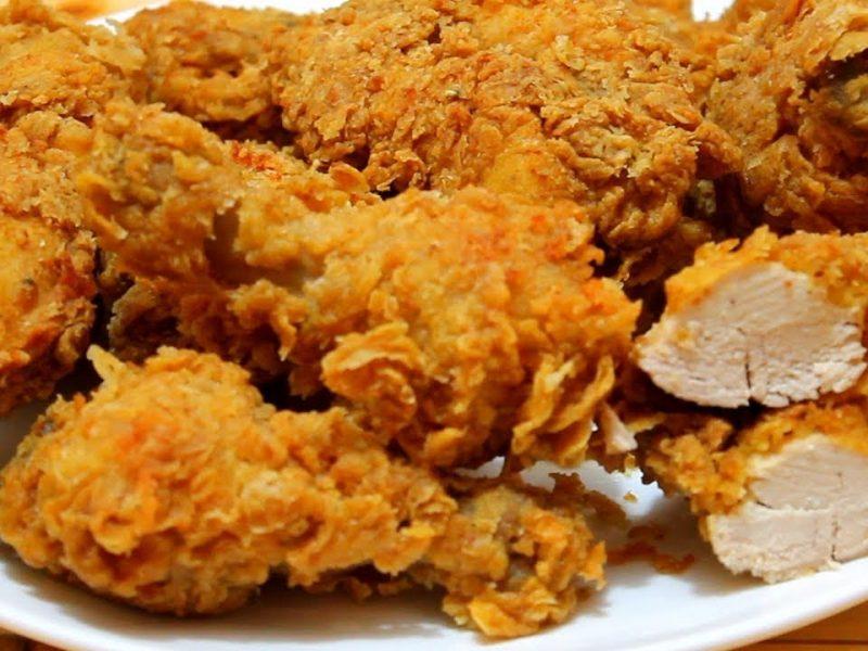 طريقة تحضير بروستد دجاج على طريقة نضال البريحي مثل المطاعم