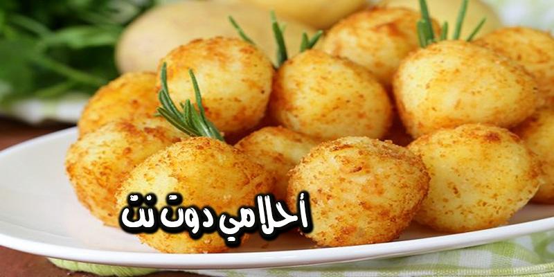 طريقة عمل كروكيت البطاطس بالدجاج