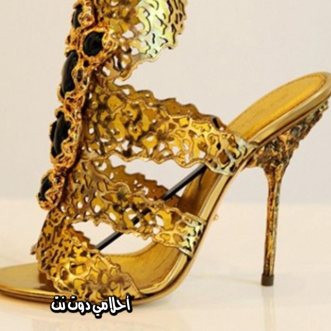 تفسير حلم الحذاء الذهبي