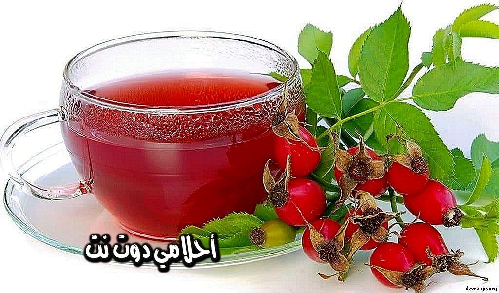 شاي ثمر الورد