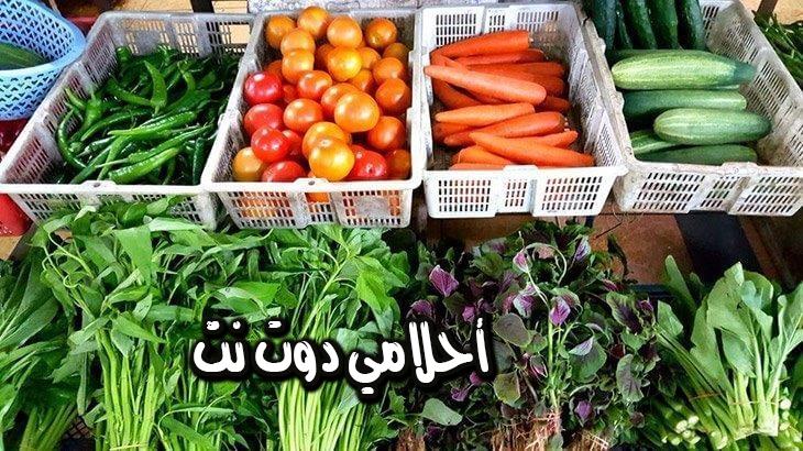 تفسير حلم الخضروات في المنام – اكل الخضروات في الحلم