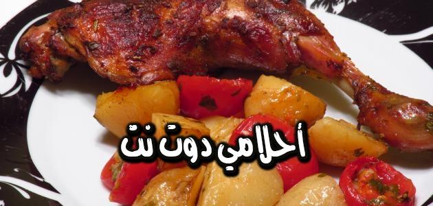 طريقة عمل تبسي الدجاج العراقي
