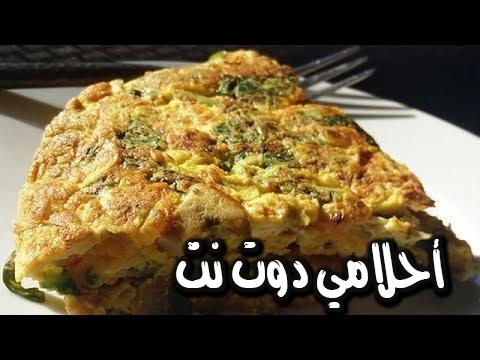 طريقة عمل العجة المصرية باللحم المفروم