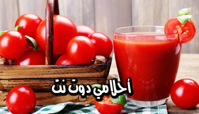 أفضل 7 بدائل عصير الطماطم