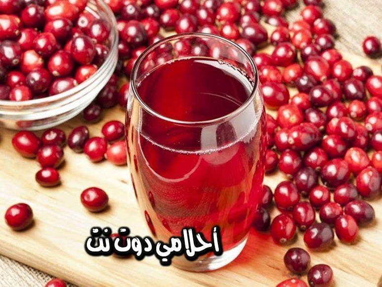 وصفة عصير التوت البري للصحة