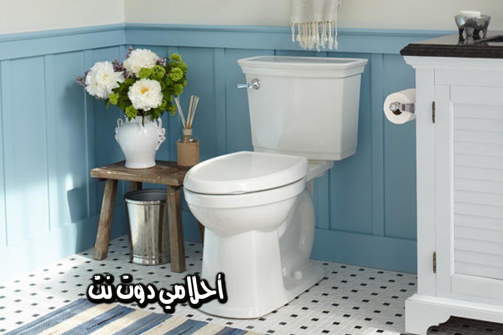 المرحاض في المنام