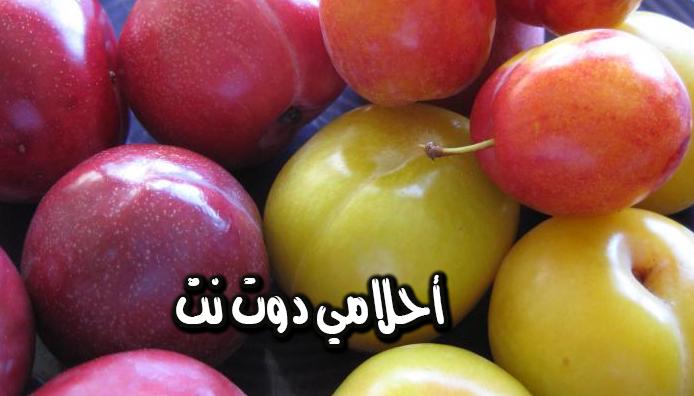 تفسير رؤية ثمار فاكهة البرقوق في المنام