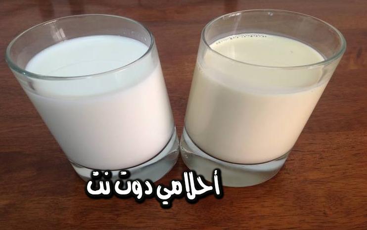 حلم الحليب للسيدة المتزوجة في المنام تفسير رؤية بيع وشراء الحليب تفسير رؤية الحليب المسكوب
