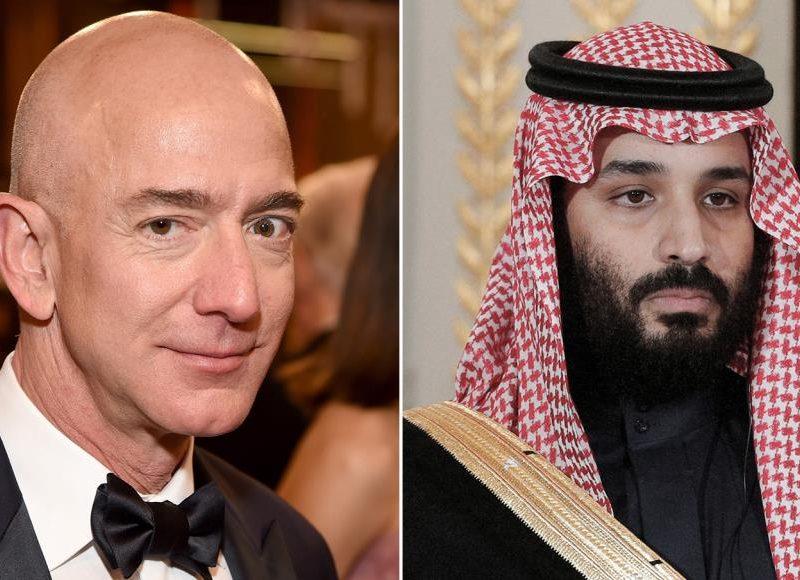 ولي العهد السعودي أرسل فايروس عبر الواتس آب الخاص بجيف بيزوس مؤسس شركة أمازون واخترق جهازه