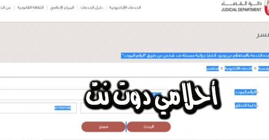 استعلم عن خدمة الاستفسار عن القضايا إلكترونياً في الإمارات