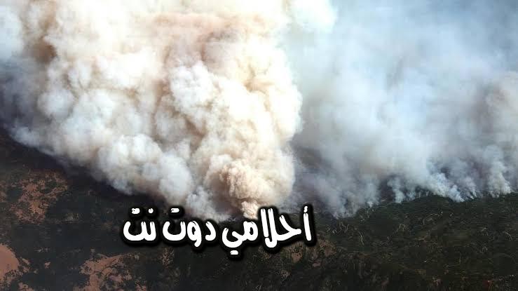 تفسير رؤية دخان الحريق في المنام
